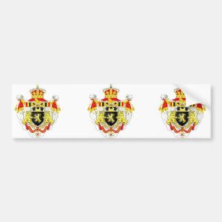 Royaume de Belgique, Belgique Adhésifs Pour Voiture