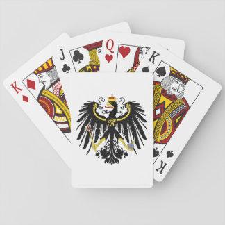 Royaume des cartes de jeu de la Prusse Jeux De Cartes