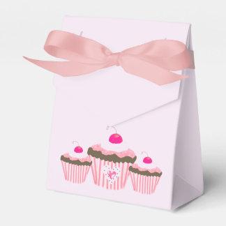 Roze Cupcakes Bedankdoosjes