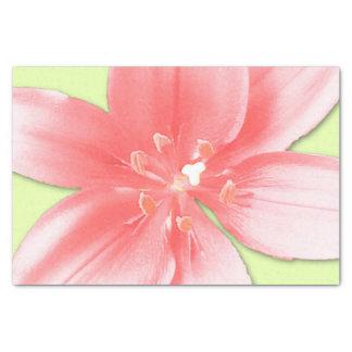 roze daylily papieren zakdoekje tissuepapier