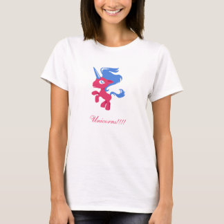 Roze Eenhoorn T Shirt