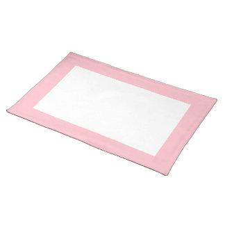 Roze en Witte Placemat