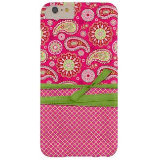 Roze iPhone 6 van Paisley plus Hoesje
