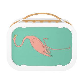 Roze Lunchbox van de Flamingo