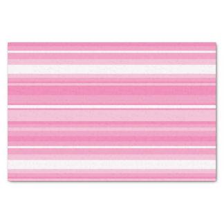 Roze strepen tissuepapier