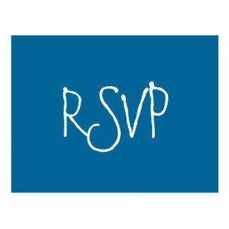 RSVP-zeester Briefkaart