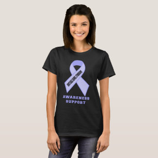 Ruban de conscience de syndrome du côlon irritable t-shirt
