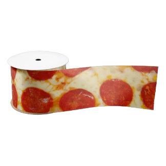 Ruban de soie de pizza ruban en satin