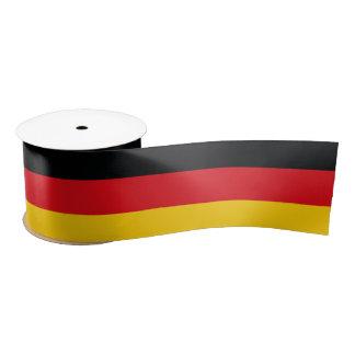 Ruban En Satin Drapeau allemand