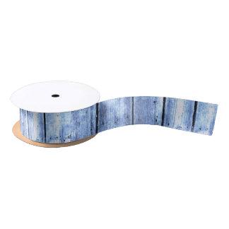 Ruban En Satin Ruban en bois bleu-clair de Planked
