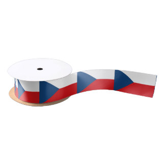Ruban En Satin Ruban tchèque de drapeau
