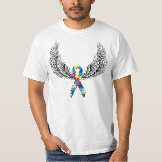 Ruban et ailes d'autisme t-shirt
