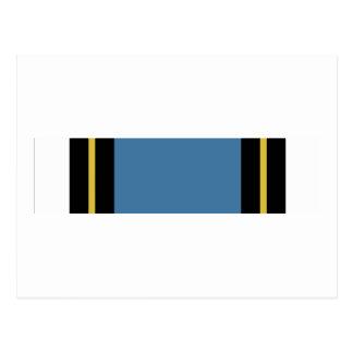 Ruban méritoire de service de forces de carte postale