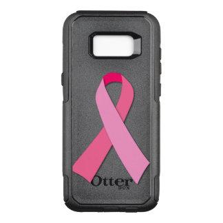 Ruban rose pour la conscience de cancer du sein coque samsung galaxy s8+ par OtterBox commuter