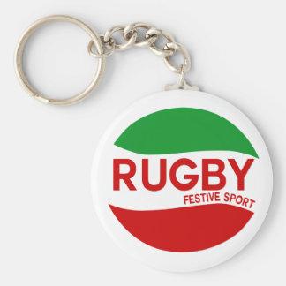 rugby festif basque porte-clés