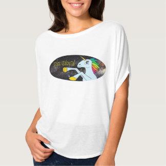 Ruimte Eenhoorn! ladiiiieeeeessz!!  OVERHEMD T Shirt