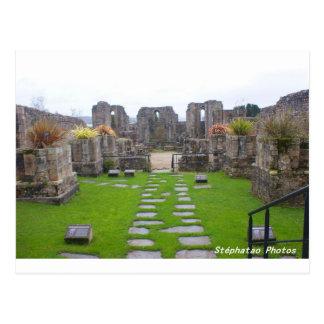 Ruines BRETAGNE FRANCE Carte Postale