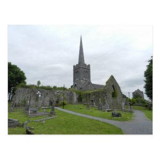 Ruines de l'église de St Mary d'Athenry - Irlande Cartes Postales