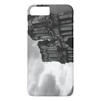 Ruines noires et blanches de l'Antigua Guatemala Coque iPhone 7 Plus