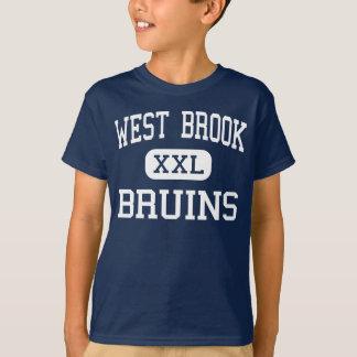 Ruisseau occidental - ours bruns d'Eurasie - lycée T-shirt