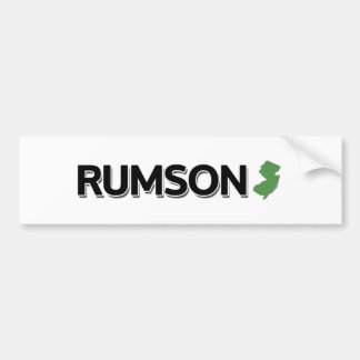 Rumson, New Jersey Autocollant De Voiture