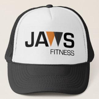 Rupture de logo de forme physique de mâchoires de casquette