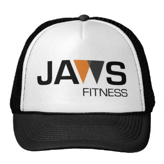Rupture de logo de forme physique de mâchoires de casquettes de camionneur