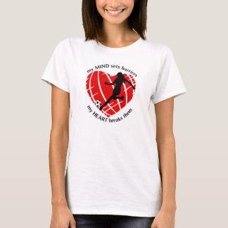 Rupture de Madame Soccer T-Shirt de barrières
