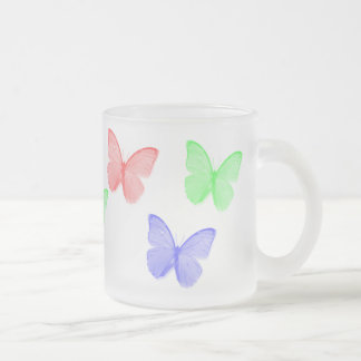 RVB Buttefly Tasse Givré