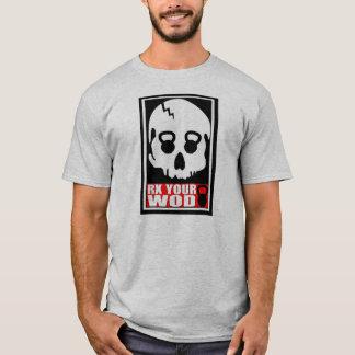 RX votre WOD - T-shirt de crâne de Kettlebell
