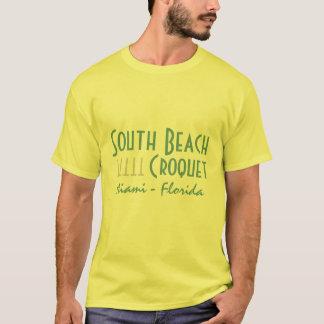 S.B. T-shirt de CROQUET (imprimé)