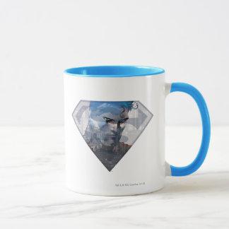 S-Bouclier de Superman | Superman dans le logo de Mug
