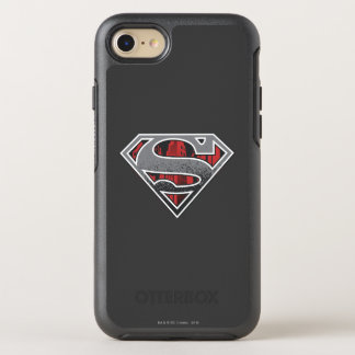 S-Bouclier logo gris et rouge de | de Superman de Coque Otterbox Symmetry Pour iPhone 7