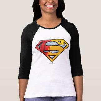 S-Bouclier logo rouge et orange de | de Superman T-shirt
