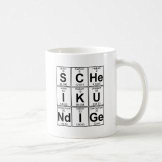 S-c--JE-K-U-ND-je-GE (scheikundige) - complètement Mug