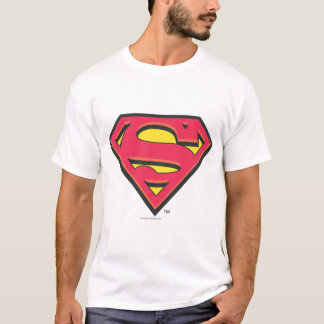 S-Schild | van de superman Klassiek Logo T Shirt