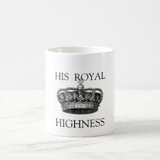 Sa tasse de thé d'altesse royale