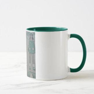 Sable et mer mug