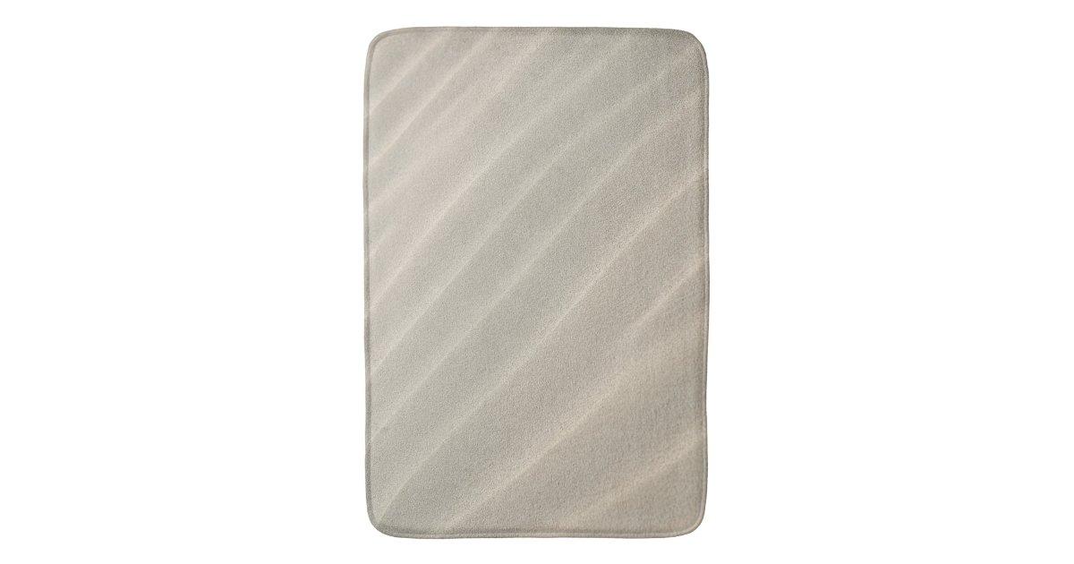 sable onduleux de plage grand tapis de bain zazzle. Black Bedroom Furniture Sets. Home Design Ideas