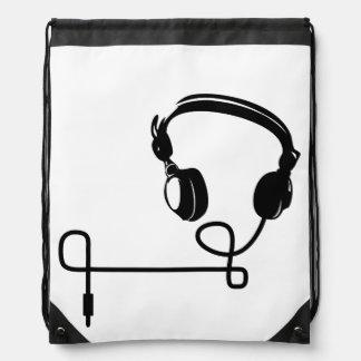 Sac à dos à cordon - HeadPhones