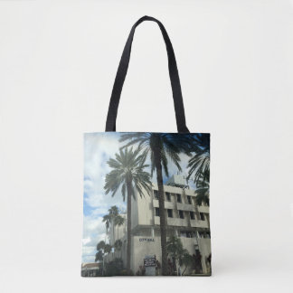 sac à main fourre-tout de palmier