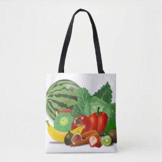 Sac à provisions végétarien