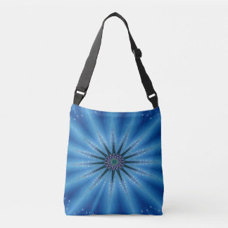 Sac Ajustable Bleu royal Starburst artistique