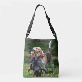Sac Ajustable Chiot et maman adorables de beagle
