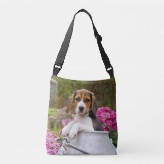 Sac Ajustable Chiot mignon de chien de beagle dans une photo de