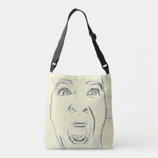 Sac Ajustable Conception criarde hilare de visage