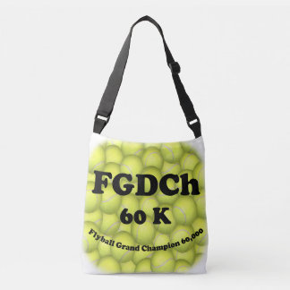 Sac Ajustable FGDCh 60K, champion grand de Flyball, 60.000