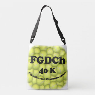Sac Ajustable FGDCh, champion grand de Flyball, 40.000 points