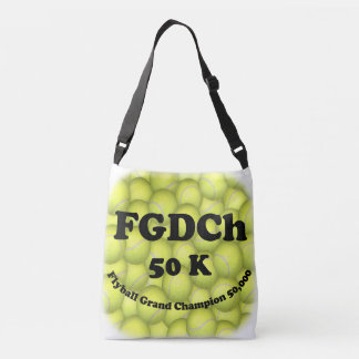 Sac Ajustable FGDCh, champion grand de Flyball, 50.000 points