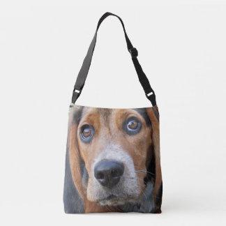 Sac Ajustable Grand chiot de beagle observé par Brown